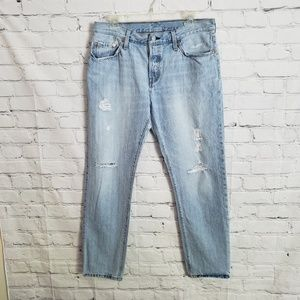 Levis 501 The original fit button fly jeans